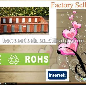 Promoção! Reciclado de água- a prova de decoração wpc projeto caixa de flor( ce rohs)