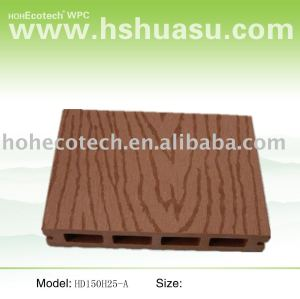 La madera como el suelo - - materiales de wpc