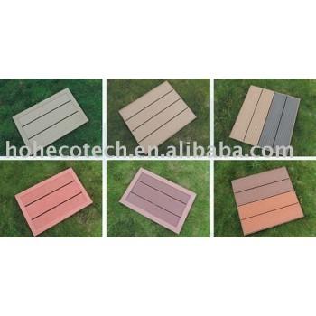 Assembled wpc flooring board