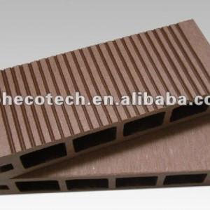 Fente durable et putréfaction résistantes, wpc creux anti-UV en dehors de decking