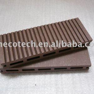 Decking de plancher de Huasu WPC (ISO9001, ISO14001, ROHS, CE)
