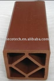 Poteau de WPC pour clôturer (ISO9001, ISO14001, ROHS)