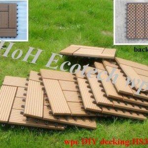 bordo delle mattonelle di sauna del wpc