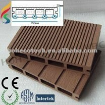 Deck construction material of smart siding