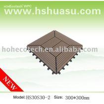 Popular wpc DIY tiles (Model:HS30S30-2)