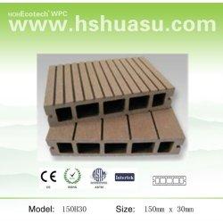 木製のプラスチック合成のdeckingの床板