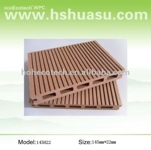 Wpc decking esterno ( iso9001, iso14001, rohs, ce )