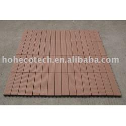 庭のデッキのタイル--WPC材料