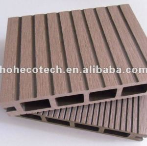 BOTH surface grooved flooring wpc decking 135x25mm tongue and groove board WPC composite decking
