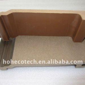 Casa com tapume- externo materiais de parede