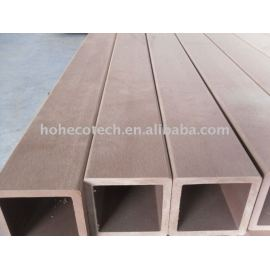 WPC railing WPC POST used for Pavilion or FENCING eco-friendly PASSED CE, ROHS, ASTM,ISO9001,ISO14001, Intertek wpc railing