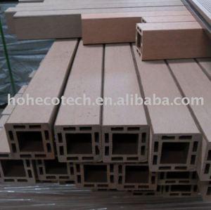 Les composés MEILLEUR qu'en bois recyclables faciles de Bois-Plastique de matériaux du poteau 100% de wpc d'installation SIGNALENT la balustrade de WPC