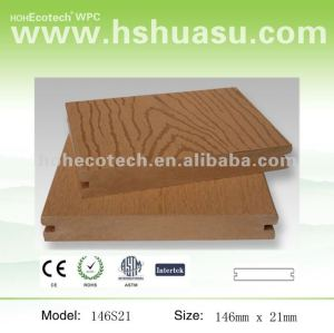 Promote! Anti-UV water-proof wpc outdoor decking (CE Reach ROHS)
