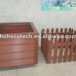 Compósitos de madeira plástica wpc flower box lesuire produtos