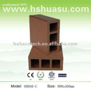 wpc banister/railing balustrade/composite balustrade banister