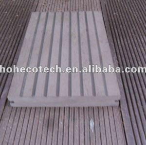 pavimentazione esterna composita di plastica di legno di vendita calda durevole (prova dell'acqua, resistenza UV, resistenza da decomporrsi e crepa)