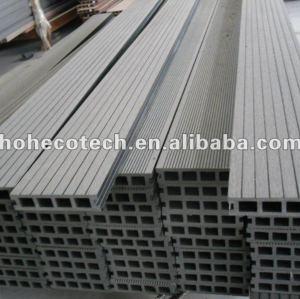 140x30mm favorable à l'environnement, decking de 100% WPC/plate-formes composés en plastique en bois de ponçage recyclables composé de plancher