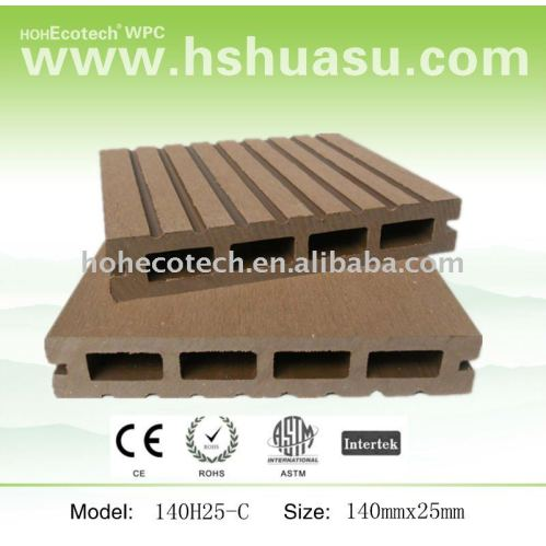Balcony Composite Decking Boards Recycle Bamboo Deck