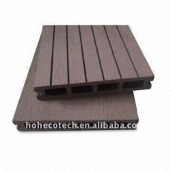 146*25mmの空のモデル習慣長さWPCの木製のプラスチック合成のdeckingまたはフロアーリングの床板(セリウム、ROHS、ASTM)のwpcのdeckingの床