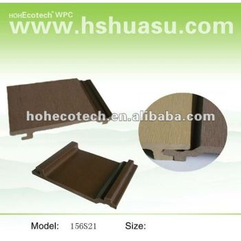 Easy to install Wood Plastic Composite cladding outdoor WPC wall panel