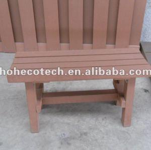 Compósitos de madeira plástica wpc banco de madeira/ pequena cadeira