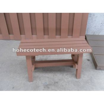 Wood Plastic composite wpc wooden bench/small chair