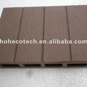 100% riciclati wpc high quality pavimentazione bordo ( wpc decking/wpc pannello murale/wpc prodotti di svago )