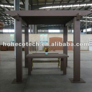 Compósitos de madeira plástica wpc pérgulas/ gazebo