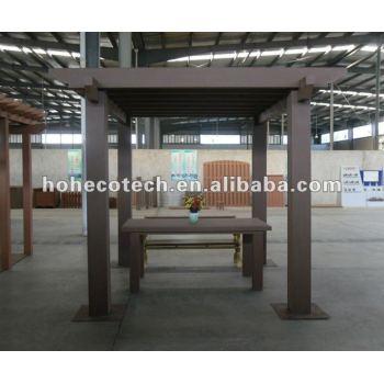 Wood Plastic composite wpc pergolas/gazebo
