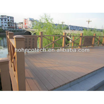 OUTdoor wpc decking /FLOORING project waterproof Composite Decking
