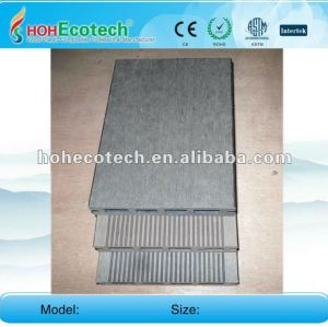 Huasu anti-UV water-proof outdoor wpc decking (CE ROHS)