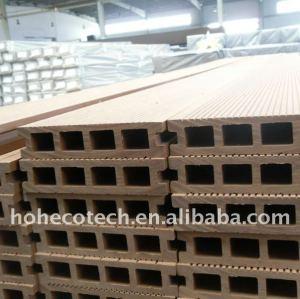 outdoor materiale da costruzione wpc pavimentazione bordo bordo di decking