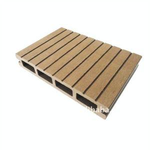 Decking composé en plastique en bois de wpc de qualité/bois de construction en bois composé wpc de plancher