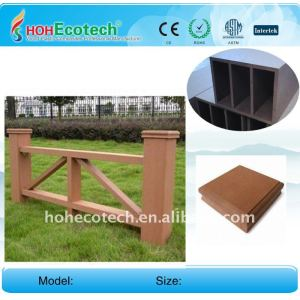 Wood Plastic Composites FENCE OUTDOOR garden fence WPC RAILING wpc fencing