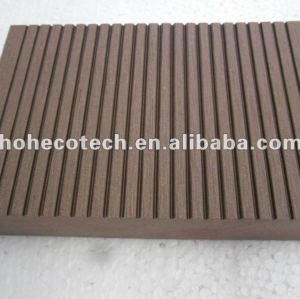 100% reciclado wpc piso de alta qualidade bordo ( decking de wpc/ painel de parede wpc/ wpc produtos de lazer )