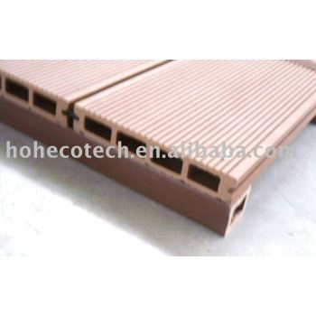 wood plastic composite flooring/decking-easy install