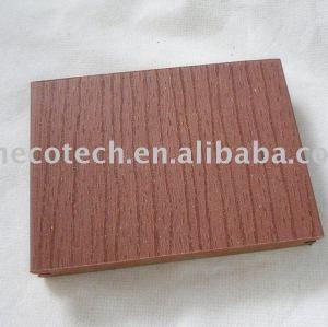 Panneau de plancher populaire de wpc (couleur de cèdre)