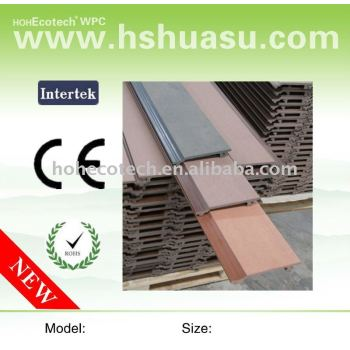 popular wood plastic composite Wall Panenl