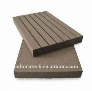 le solide de 70*10mm pour le wpc couvre de tuiles le plancher composé en plastique en bois de decking de WPC/de decking de wpc de panneau plancher de plancher (CE, ROHS, ASTM)