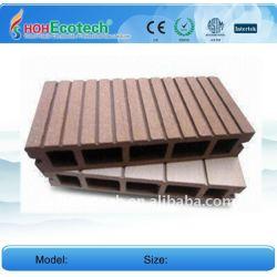 製造150*25mm WPCの木製のプラスチック合成のdeckingかフロアーリングのwpcの床板のデッキのdecking