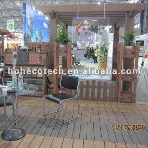 longa vida para uso ao ar livre de wpc pérgola de madeira plástica composta pergola