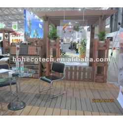 屋外のwpcのpergolaの木製のプラスチック合成のpergolaを使用する長い生命
