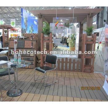Long life to use OUTDOOR wpc pergola wood plastic composite pergola