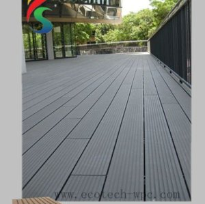 waterproof WPC decking for outdoor landscaping