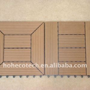 decking di wpc piastrelle 300x300mm 9 modelli di scegliere