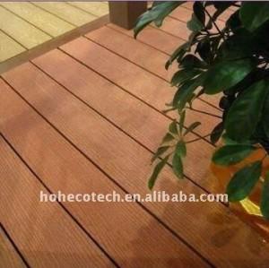 Nuovo decorare materiale di decking di wpc legno decking composito di plastica/pavimentazione