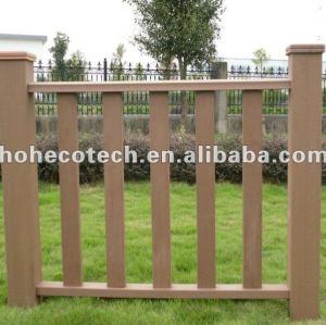 wood plastic composite wpc trilhos ao ar livre