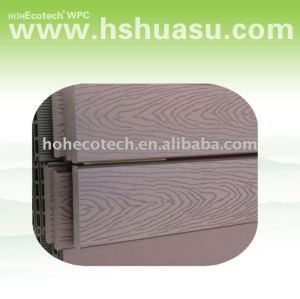 plancher composé en plastique en bois populaire de decking
