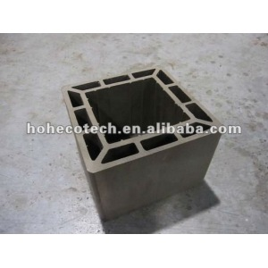 eco-friendly construction building material wpc post, railing sell size 200*200mm