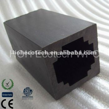 POST-wpc fencing material/eco-friendly wood plastic composite decking/floor decking